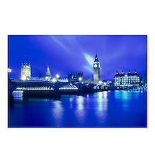 London landmarks - Postcards (Pk of 8)