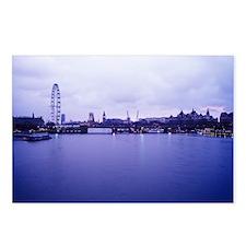 London landscape - Postcards (Pk of 8)