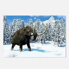 Mammoth, artwork - Postcards (Pk of 8)