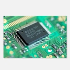 Microprocessor chip - Postcards (Pk of 8)