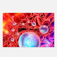 Nanomedicine, conceptual artwork - Postcards (Pk o