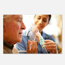Nebuliser use - Postcards (Pk of 8)
