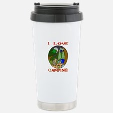 I LOVE camping bears Travel Mug