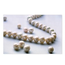 Pearl necklace - Postcards (Pk of 8)