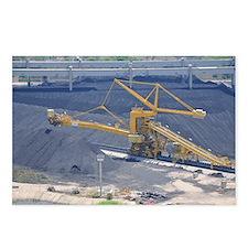 Power station - Coal storage site - Postcards (Pk