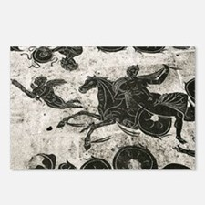 Roman mosaic, Ostia Antica - Postcards (Pk of 8)