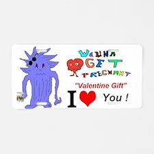 Valentine Gift? Aluminum License Plate