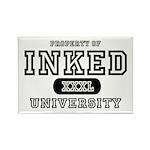 Inked University Property Rectangle Magnet