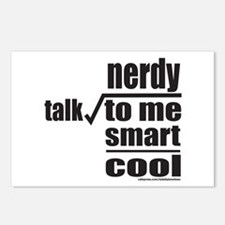 TALK NERDY TO ME Postcards (Package of 8)