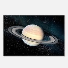 Saturn, artwork - Postcards (Pk of 8)