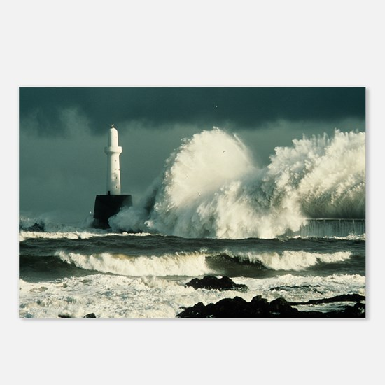Storm waves - Postcards (Pk of 8)