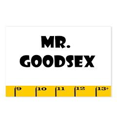 Ruler Mr. Goodsex Postcards (Package of 8)