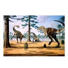 Tarbosaurus - Postcards (Pk of 8)