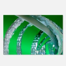 Water pipe and insulation material - Postcards (Pk