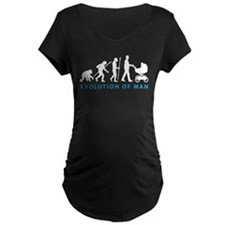 evolution of man with a buggy T-Shirt