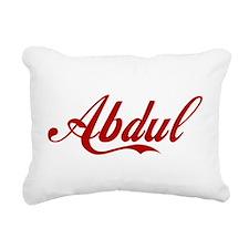 Abdul name Rectangular Canvas Pillow