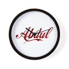 Abdul name Wall Clock