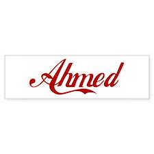 Ahmed name Car Sticker