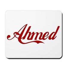 Ahmed name Mousepad
