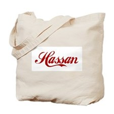 Hassan name Tote Bag