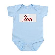 Jan name Infant Bodysuit