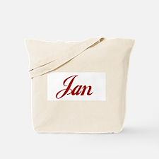 Jan name Tote Bag