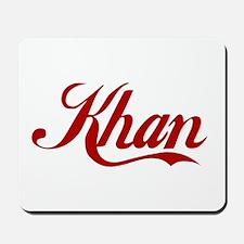 Khan name Mousepad