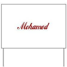 Mohamed name.png Yard Sign