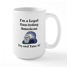 Large Gun-toting Mug