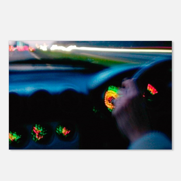 Drink-driving - Postcards (Pk of 8)