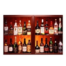 Drinks cabinet - Postcards (Pk of 8)