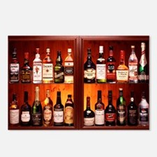 Drinks cabinet - Postcards (Pk of 8)