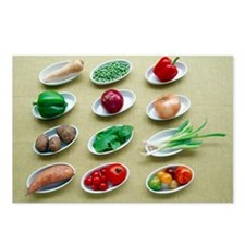 Fruit and vegetables - Postcards (Pk of 8)