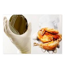 Campylobacter food poisoning - Postcards (Pk of 8)