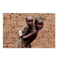 Child carrying a baby - Postcards (Pk of 8)