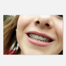 Dental braces - Postcards (Pk of 8)