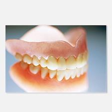 False teeth - Postcards (Pk of 8)