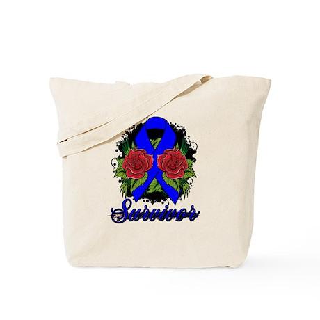 rectal cancer survivor tote bag by gifts4awareness