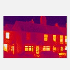 House, thermogram - Postcards (Pk of 8)