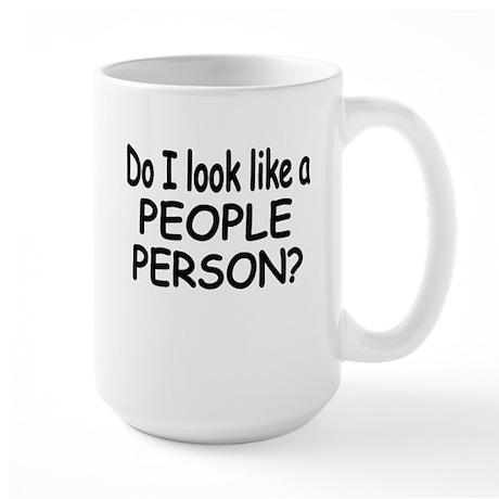 Do I Look Like A People Mug By Terriblycutetees