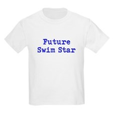 Future Swim Star Boys Blue T-Shirt