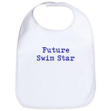 Future Swim Star Boys Blue Bib