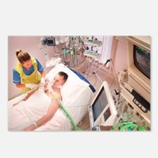 Intensive care patient - Postcards (Pk of 8)