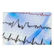 Irregular heartbeat - Postcards (Pk of 8)