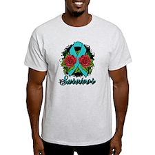 PCOS Survivor Tattoo T-Shirt