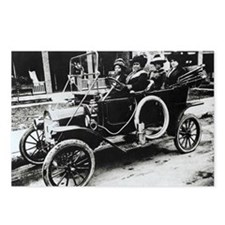 Madam C. J. Walker, US businesswoman - Postcards (