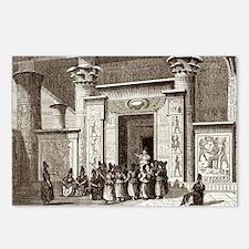 Pythagoras and Egyptian priests - Postcards (Pk of