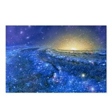 Artwork of the Milky Way, our galaxy - Postcards (