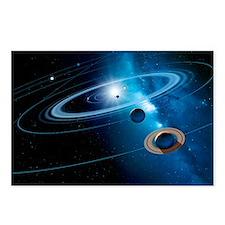 Christmas star as planetary conjunction - Postcard