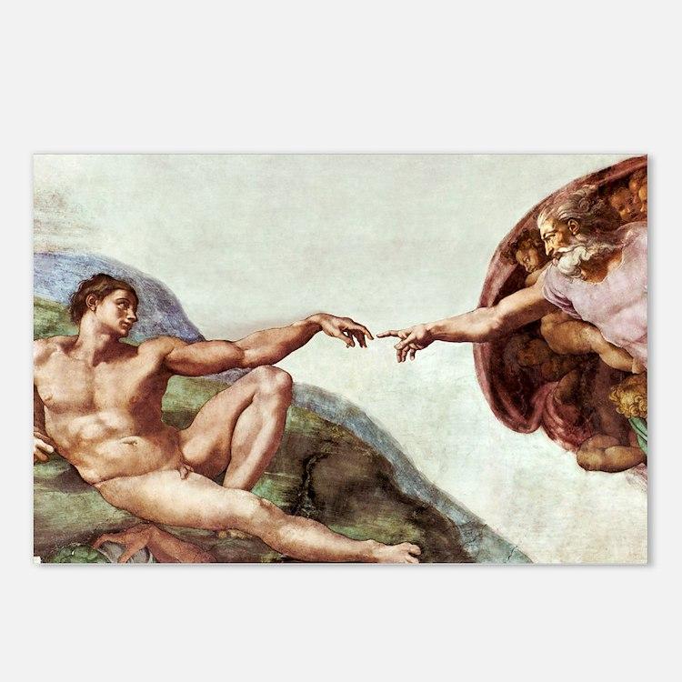 Creation of Adam - Postcards (Pk of 8)